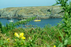 Mouillage de Ster Wen à Belle Ile
