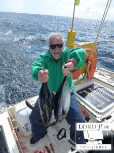 Pêche au thon à la voile à bord de Lord Jim