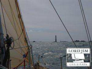 Navigation côtière en Bretagne