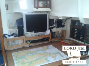 La table à cartes de Lord Jim