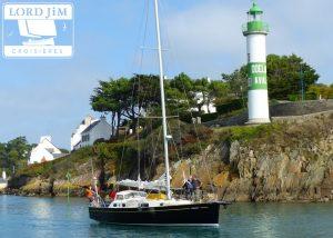 Croisière à la voile en Bretagne sud
