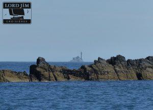 Le phare du Fastnet en Mer d'Irlande