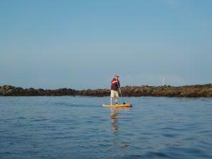 Débarquement en Paddle