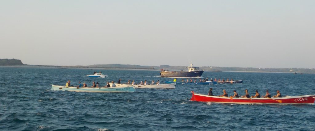 The ladies' gig race