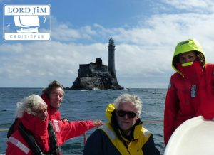 Lord Jim au Phare du Fastnet