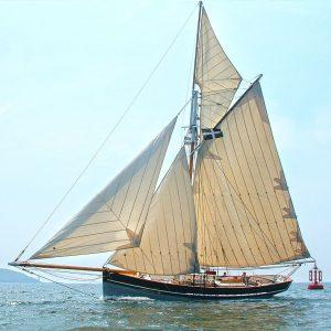 Agnès cotre pilote des îles Scilly
