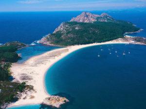 Les îles Cies - Croisière en Galice