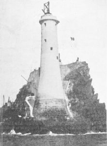 Construction du phare du fastnet