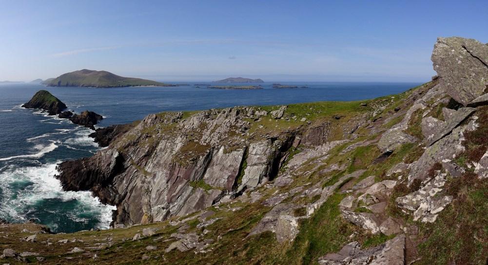 L'archipel des Blasket vu de Dunmore Head