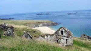 ruines sur Great Blasket Island
