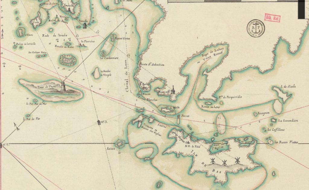 Carte Baie de Morlaix Charles CORNIC