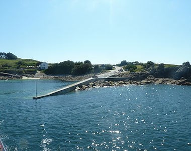 Cale de débarquement à St Agnes