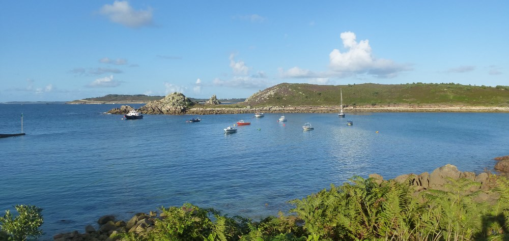 Lord Jim au mouillage a st Agnes Scilly