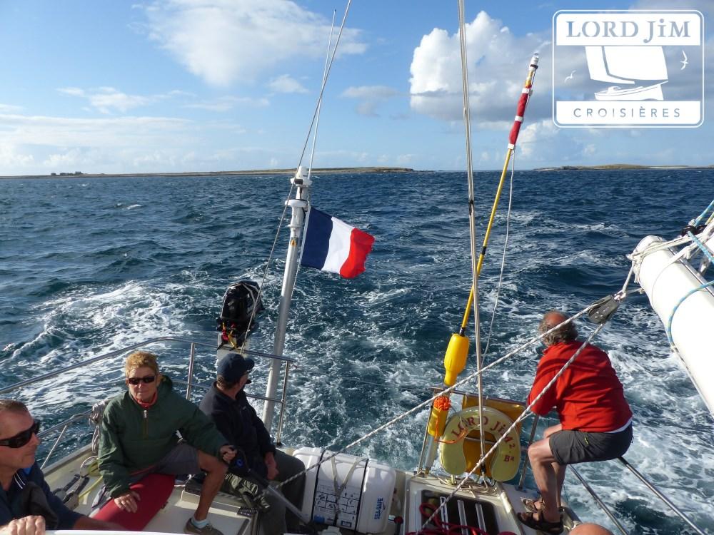 croisiere en mer d'Iroise