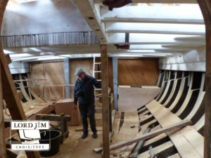 chantier naval de Luke Powell