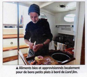 La cuisine du bord