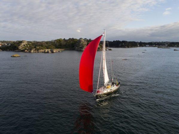 Croisière à la voile avec skipper