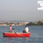 famille en pêche Ria Ferrol