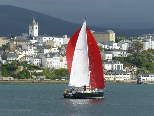 croisiere a la voile en Galice