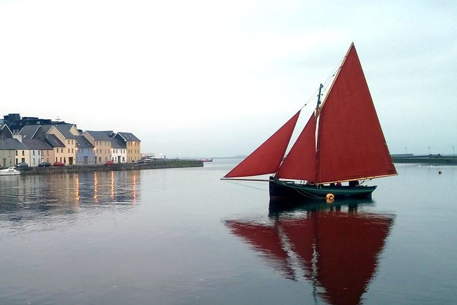 Hooker au port de Claddagh